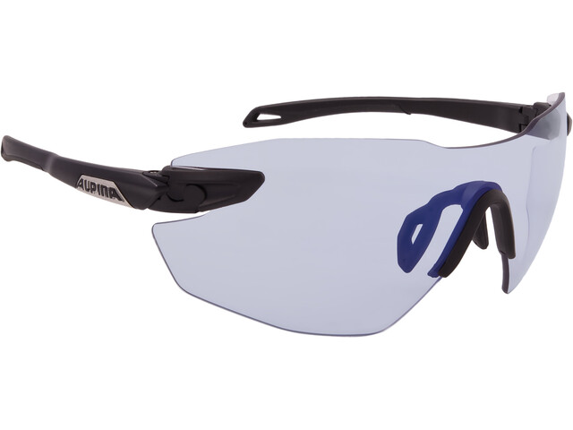 Alpina Twist Five Shield RL VLM+ Cykelbriller sort (2019) | Glasses